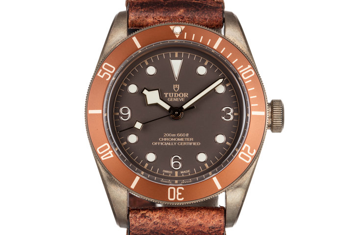 2016 Tudor Bronze Black Bay 79250BM with Box and Papers photo