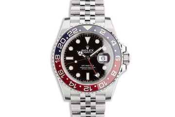 2019 Rolex GMT-Master II 126710BLRO with Box and Card photo