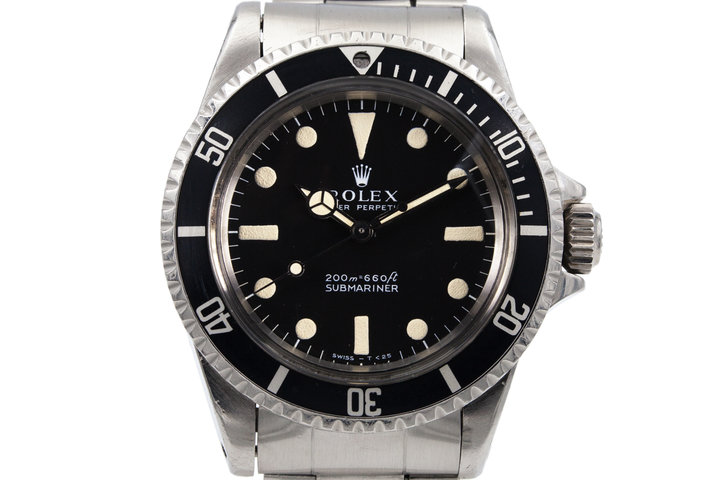 1968 Rolex Submariner 5513 with Meters First Dial photo