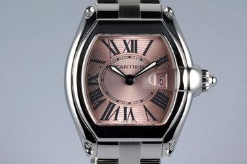 Cartier Ladies Quartz Roadster 2675 Pink Roman Dial photo