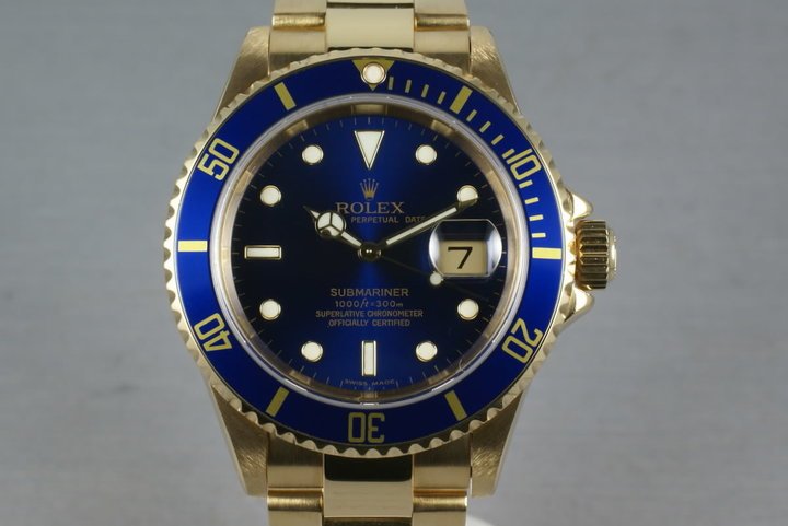 Rolex Submariner  Ref: 16618 with Service Paper photo