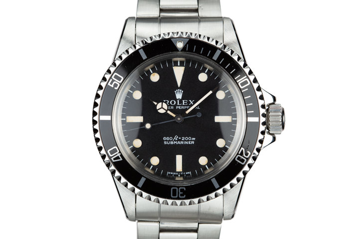 1972 Rolex Submariner 5513 photo
