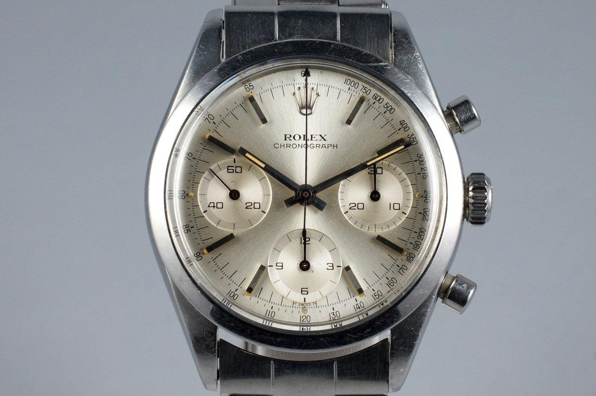 1964 Rolex Pre-Daytona 6238 Silver Dial photo, #0