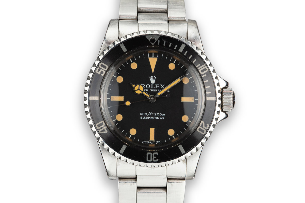 1972 Rolex Submariner 5513 Serif Dial photo, #0