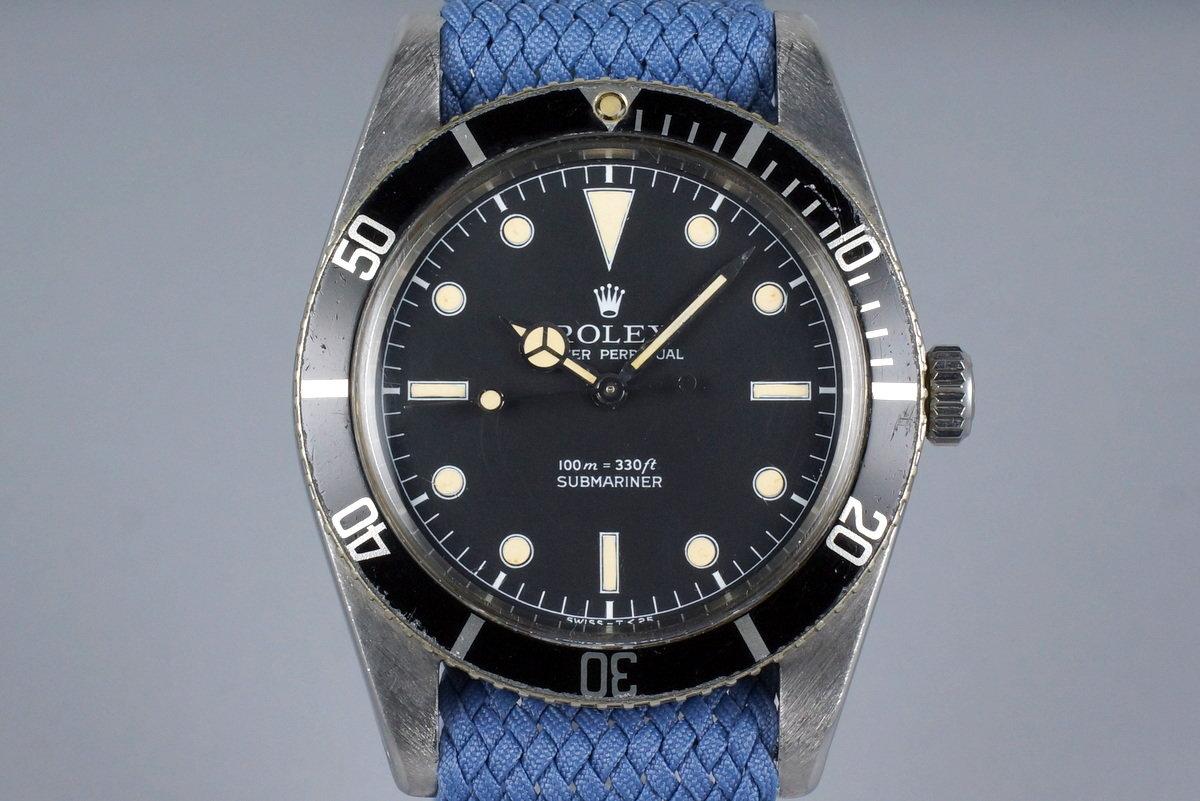 1958 Rolex Submariner 5508 Service Dial photo, #0