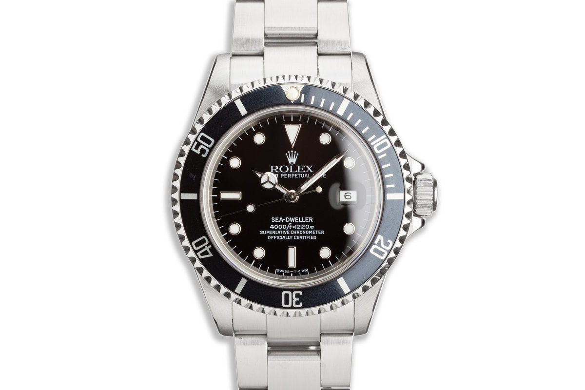 1993 Rolex Sea-Dweller 16600 photo, #0