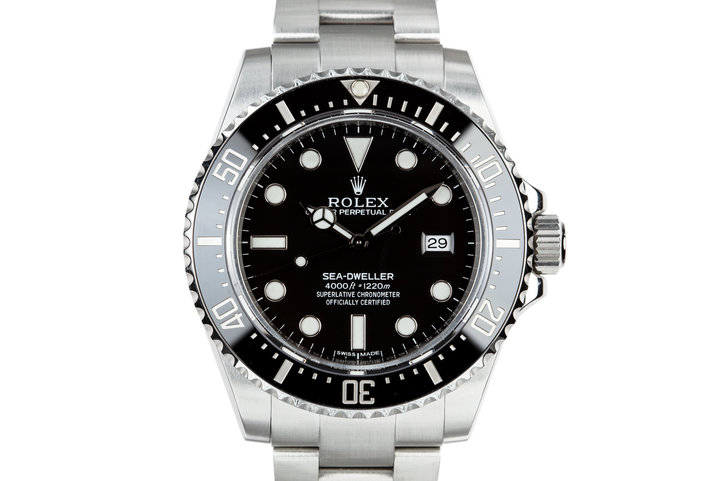 2015 Rolex Sea-Dweller 116600 with Box and Papers photo