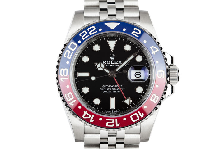 "Mint 2018 Rolex GMT-Master 126710BLRO ""Pepsi"" with Box and Papers photo"