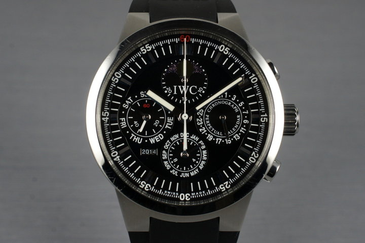 IWC GST Perpetual Calendar IW3756 with Box photo