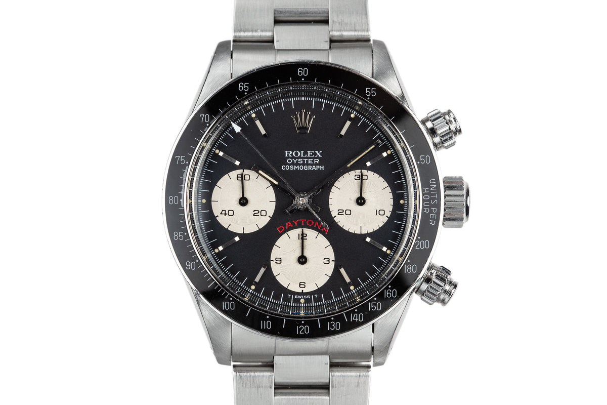 1985 Rolex Daytona 6263 Black Dial photo, #0