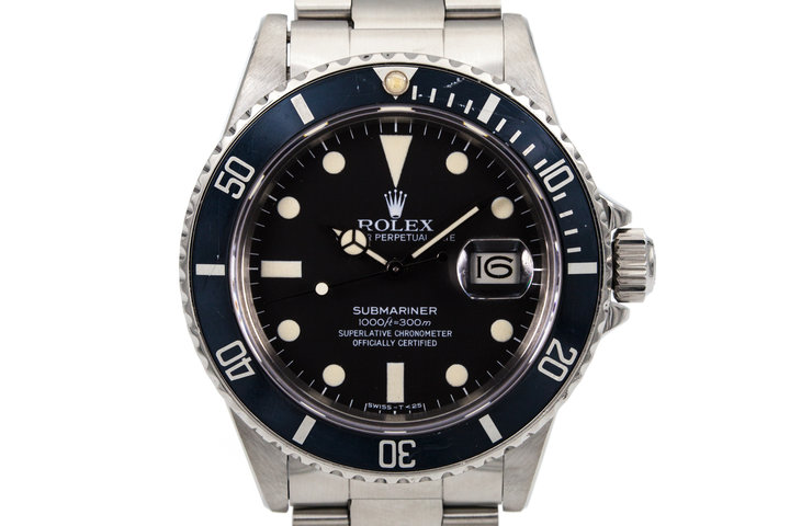 1981 Rolex Submariner 16800 photo