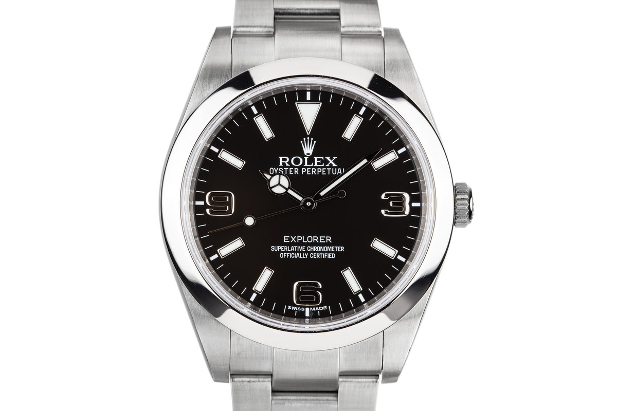 2010 Rolex 39mm Explorer 214270 photo, #0