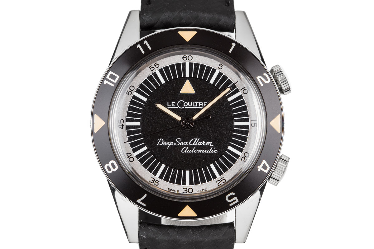 2011 Jaeger-LeCoultre Memovox Tribute Deep Sea Alarm Automatic 134.8.96 with JLC Pouch photo, #0