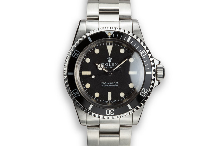 1966 Rolex Submariner 5513 with Meters First Dial photo