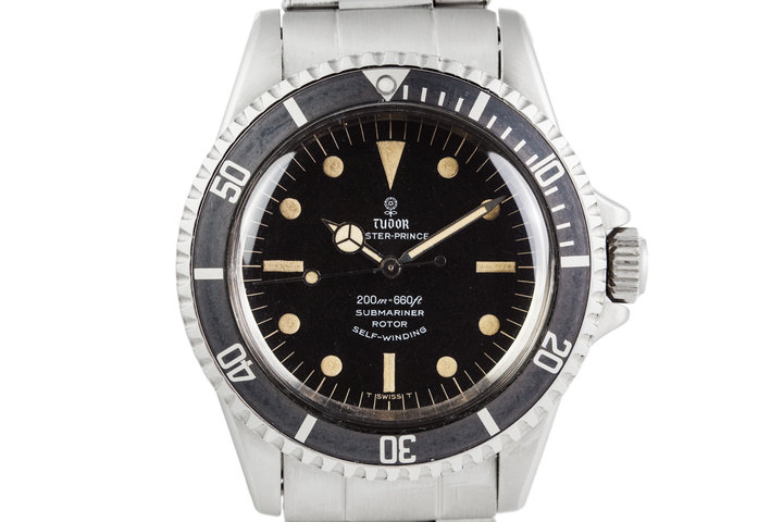 1968 Tudor Submariner 7016/0 with Swiss Rivet Band photo