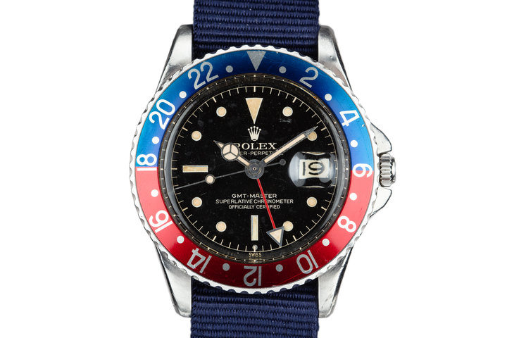 1960 Rolex GMT-Master 1675 Gilt Dial photo