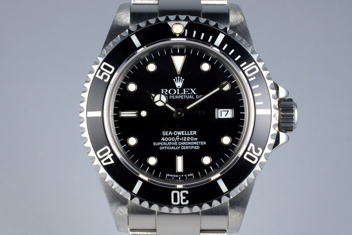 1995 Rolex Sea Dweller 16600 with RSC Papers photo