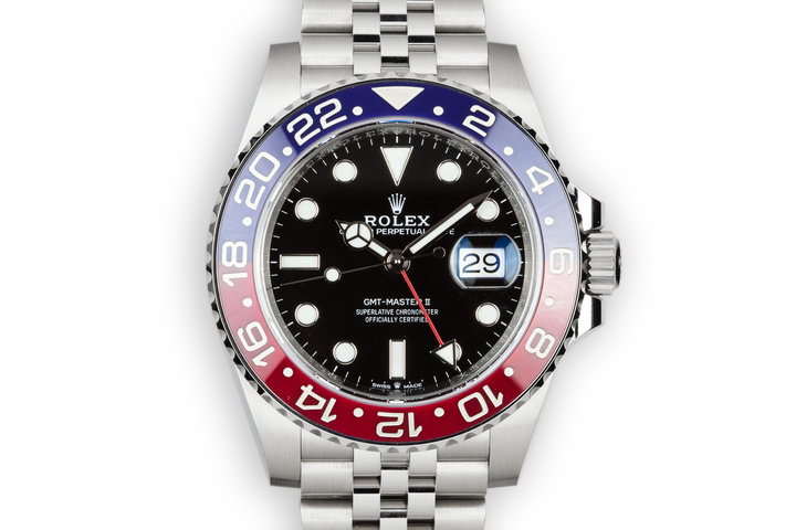 2018 Rolex GMT-Master II 126710 BLRO with Box and Papers photo