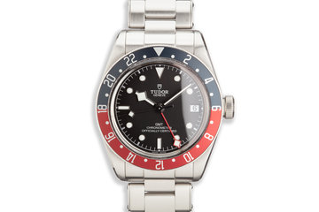 2018 Tudor Black Bay GMT 79830RB with Box and Card photo