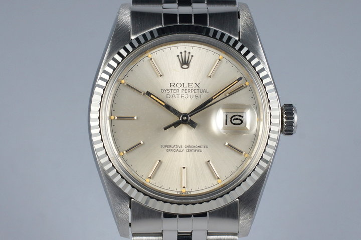 1979 Rolex DateJust 16014 Silver Dial photo