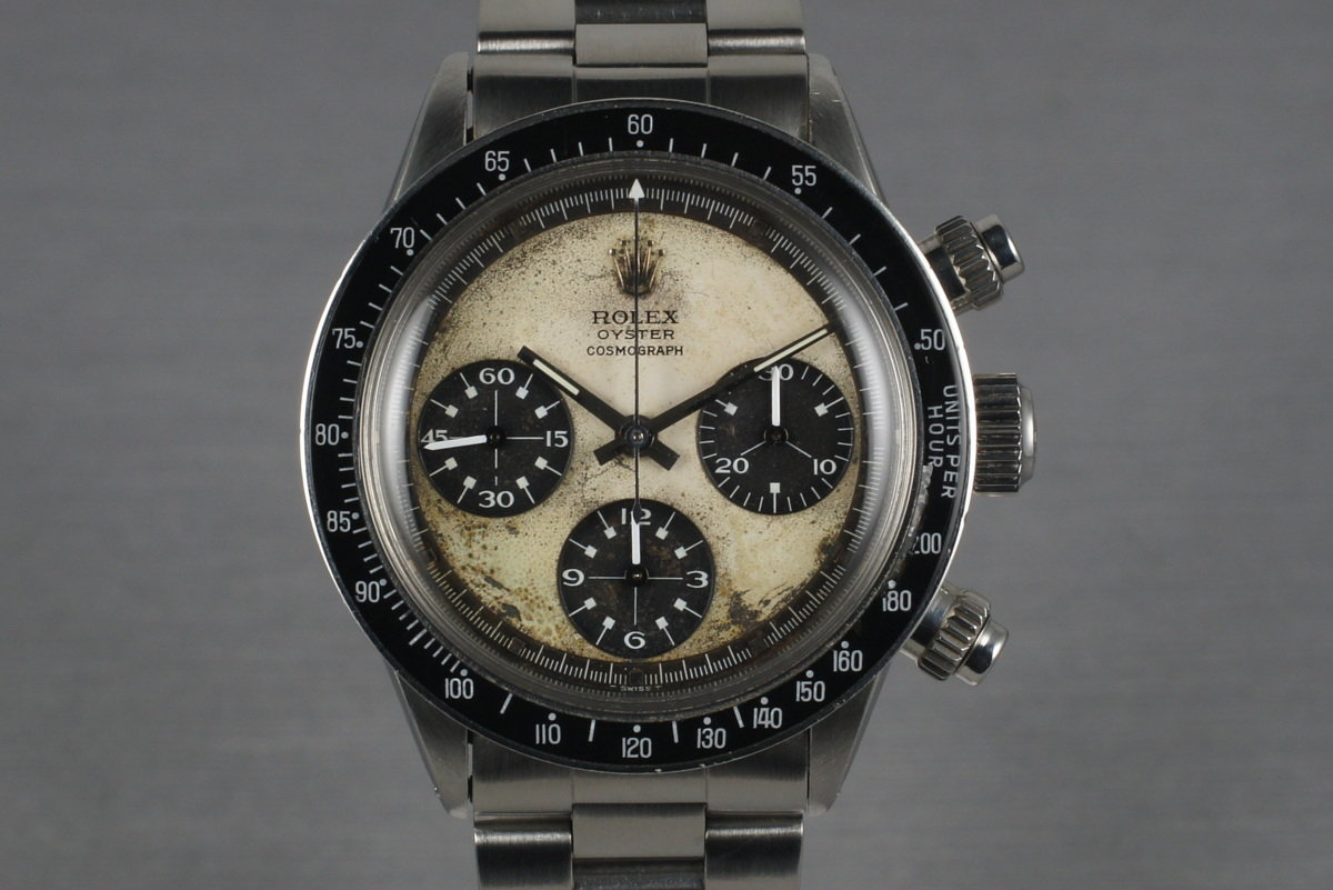 1970 Rolex Daytona 6263 Paul Newman with Box and Papers photo, #0