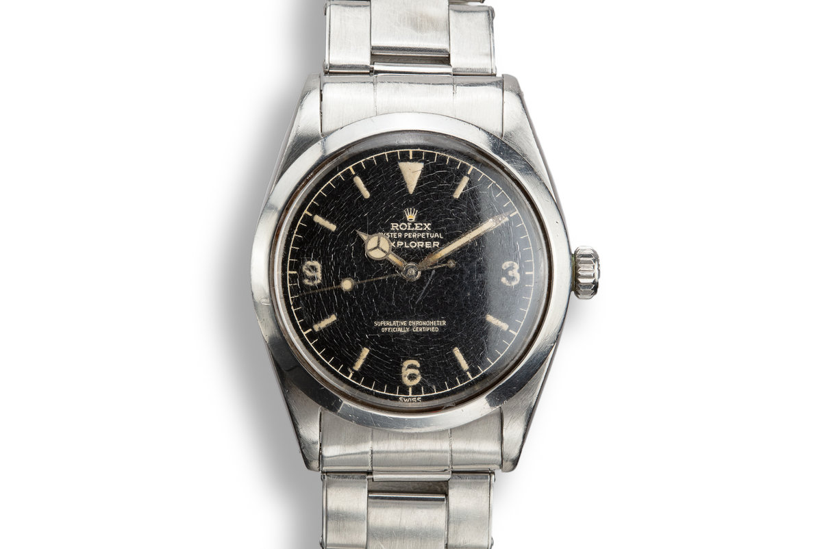 1960 Rolex Explorer 1016 Gilt Dial with Box and Papers photo, #0