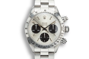 1972 Rolex Daytona 6265 Silver Dial photo