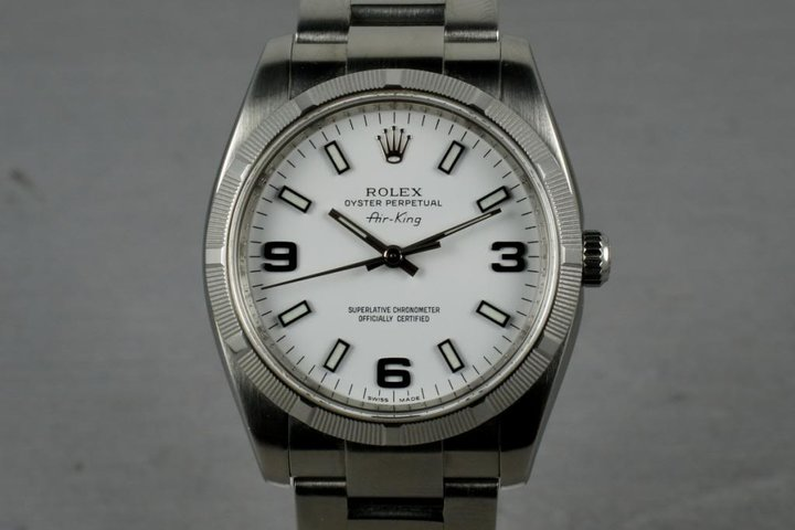 2006 Rolex Air-King 114210 with Box and Papers photo