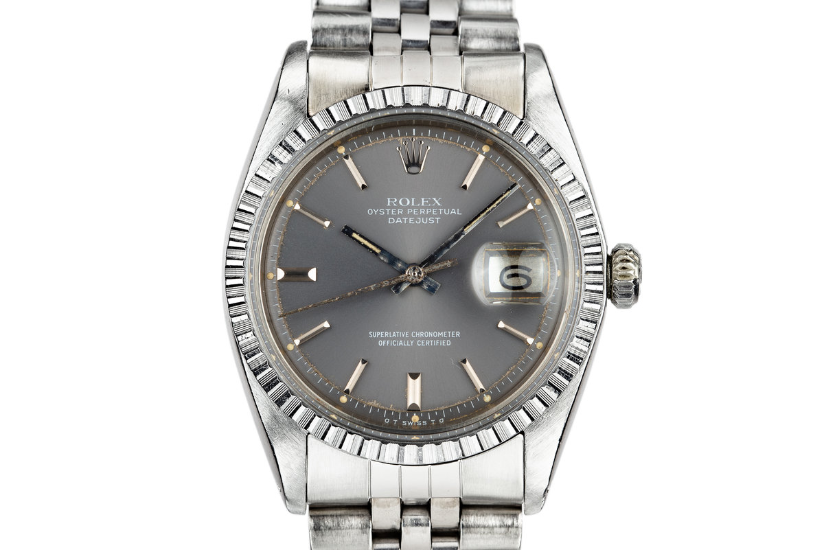 1977 Rolex DateJust 1603 with Grey Sigma Dial photo, #0