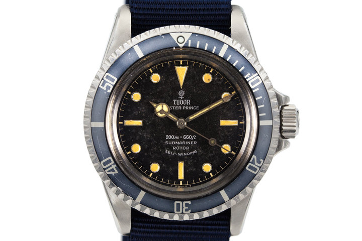 1964 Tudor Submariner 7928 Chapter Ring Dial photo