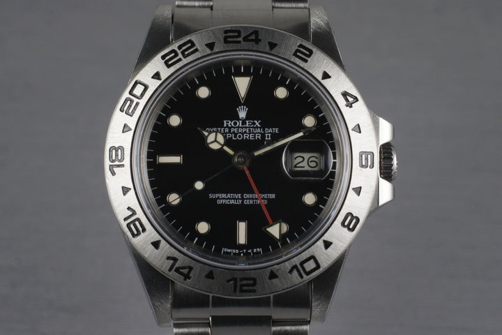 1985 Rolex Explorer II 16550 'Spider Rail Dial' photo
