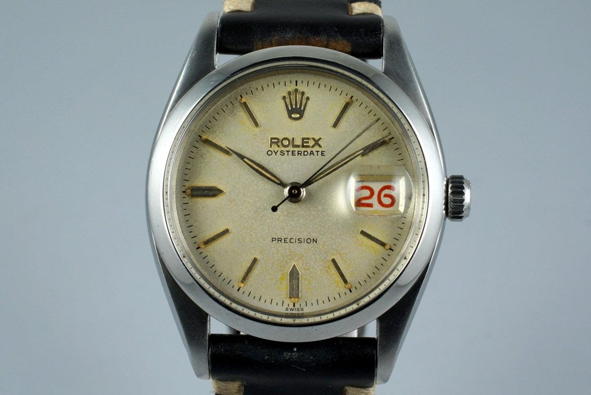 1954 Rolex OysterDate 6494 photo, #0