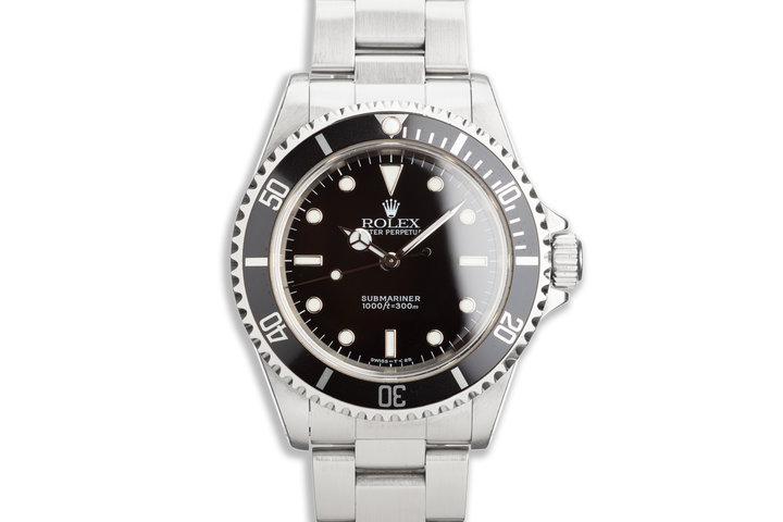 1997 Rolex Submariner 14060 Transitional Luminova Dial photo