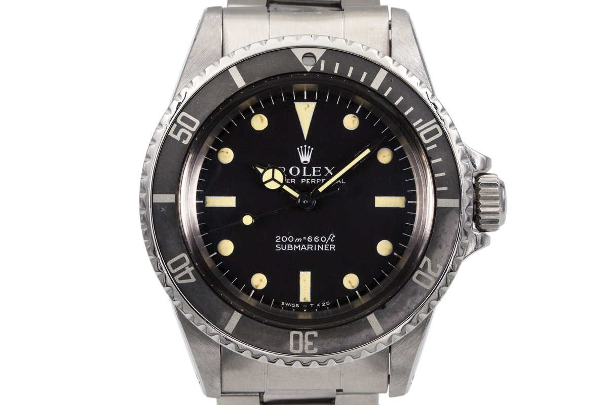 1970 Rolex Submariner 5513 Meters First Dial photo, #0