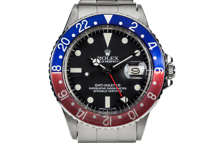 1970 Rolex GMT-Master 1675 with Pepsi Insert and Box and Papers photo