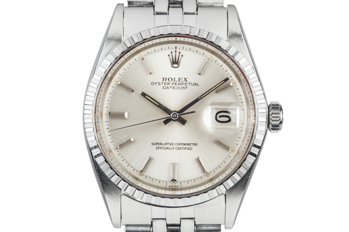 1970 Rolex DateJust 1603 Silver Dial photo