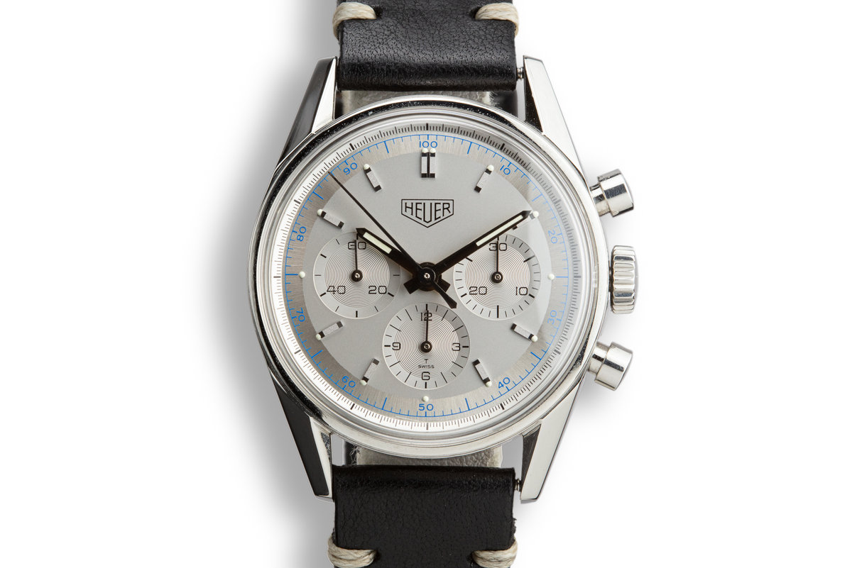 Tag Heuer 1964 Carrera Re-Edition CS3110 Silver Dial with Box, Blank Papers, and Service Papers photo, #0
