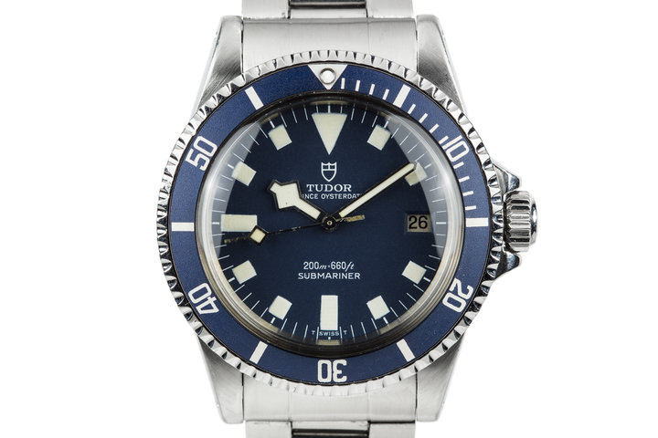 "1980 Tudor Submariner Blue ""Snowflake"" 94110 photo"