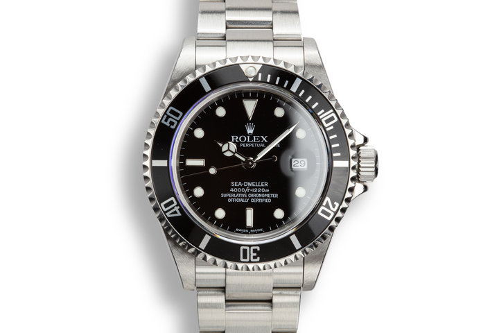 2003 Rolex Sea-Dweller 16600 T with Box and Papers photo