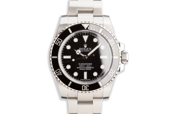 2018 Rolex Submariner 114060 with Box and Card photo