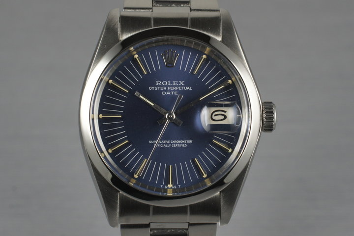 1971 Rolex Oyster Perpetual Date 1500 photo