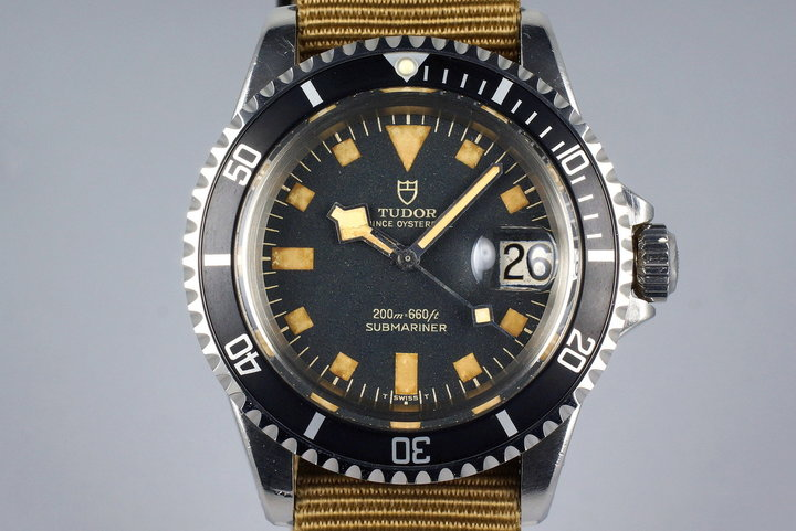 1972 Tudor Submariner 9411/0 Black Snowflake Dial photo