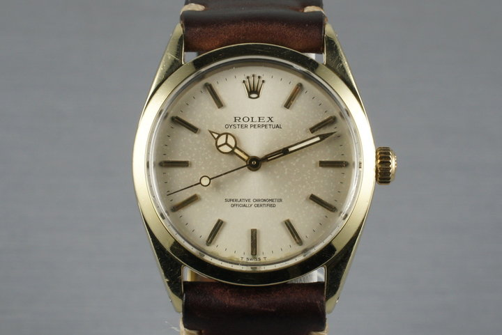 1967 Rolex Gold Shell Oyster Perpetual 1024 photo
