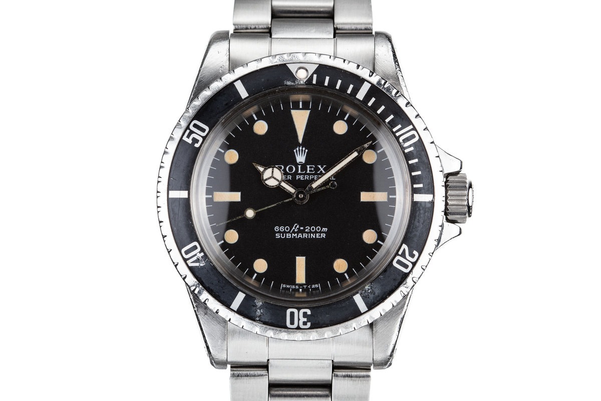 1968 Rolex Submariner 5513 Serif Dial photo, #0