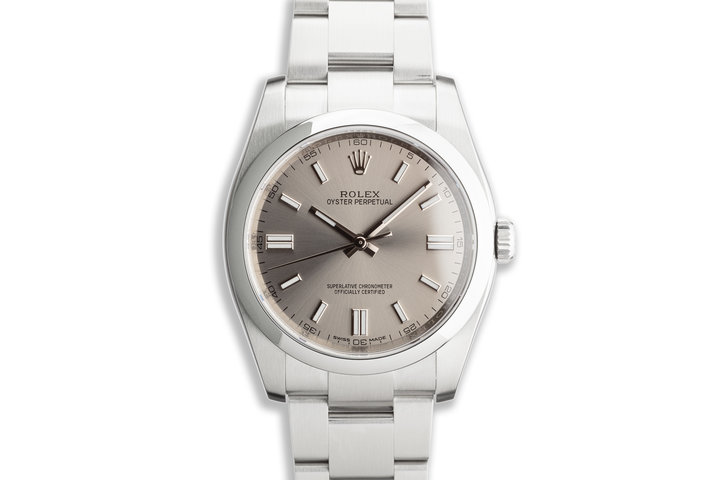 2019 Rolex Oyster Perpetual 116000 with Box and Card photo
