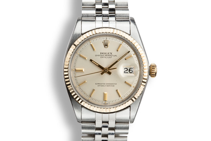 1969 Rolex Two-Tone DateJust 1601 Silver Dial photo