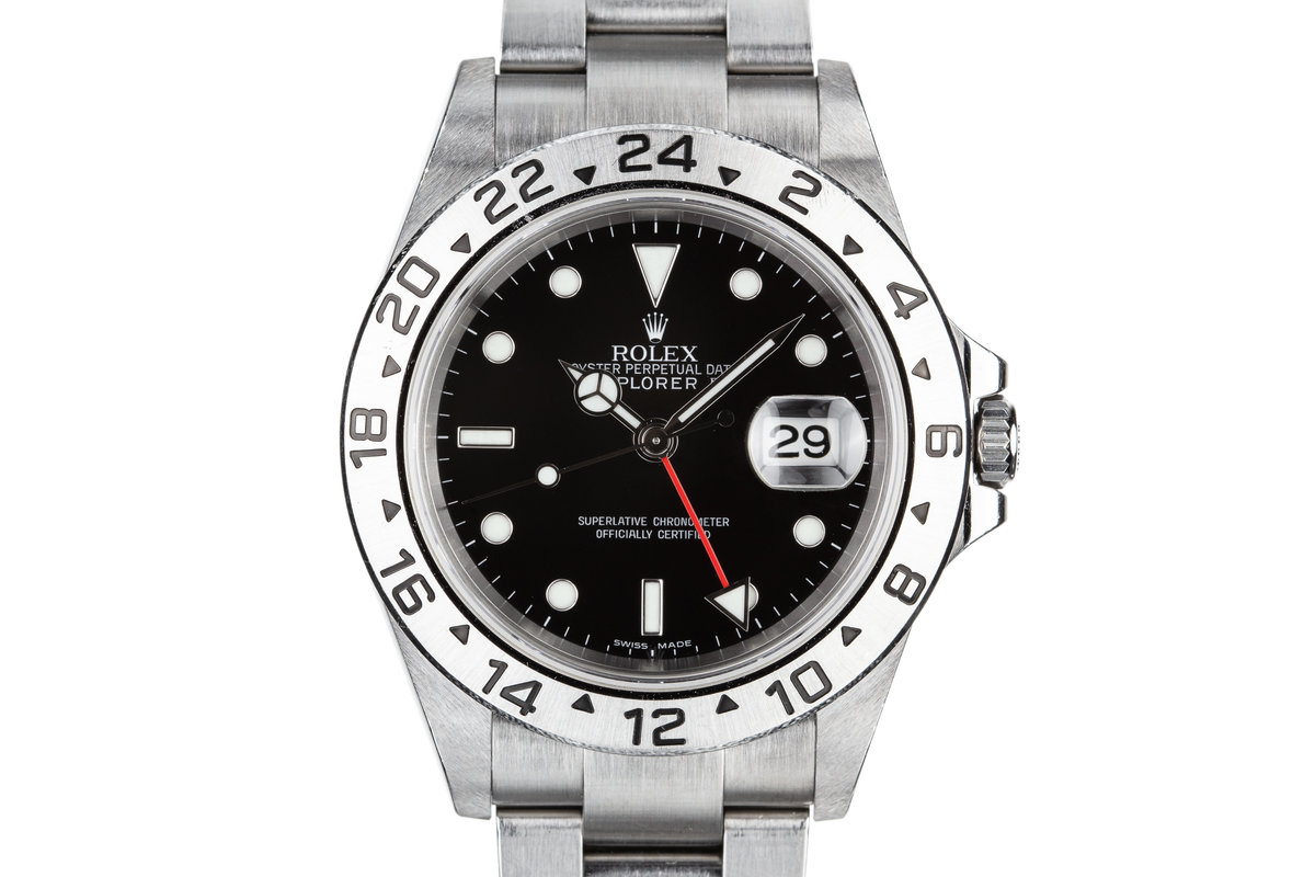 2006 Rolex Explorer II 16570 Black Dial photo, #0