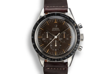1960 Omega Straight Lug Speedmaster 2998-2 with Tropical Dial photo
