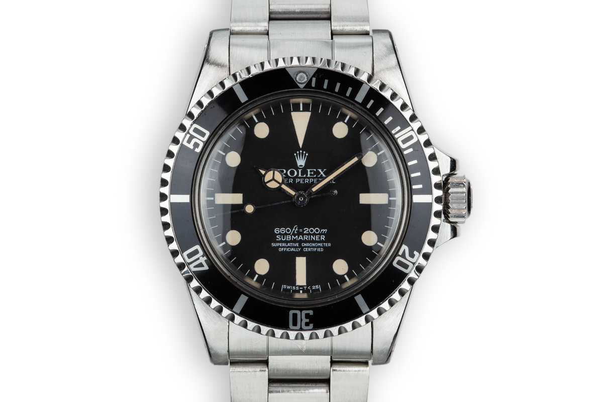 1977 Rolex Submariner 5512 with  Mark 1 Maxi Dial photo, #0