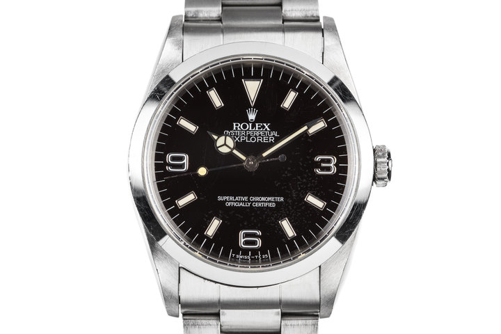 "1995 Rolex Explorer 14270 with ""Falling Leaf"" Dial photo"